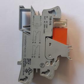 Relé De Interface 2 Contatos Reversíveis, 220 Vca.