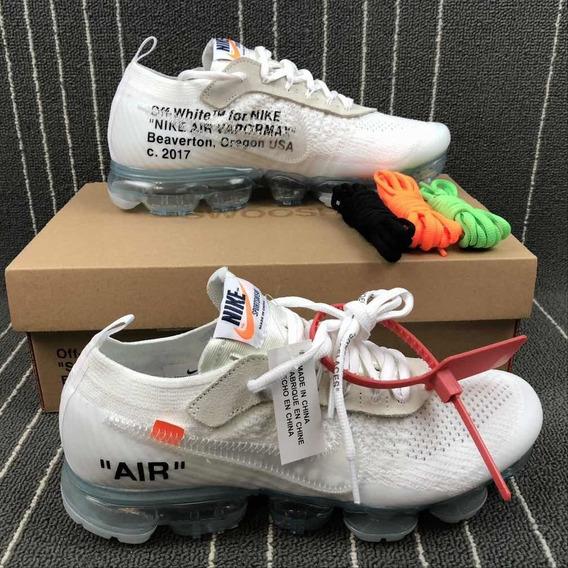 Tênis Nike X Off White The 10: Air Vapormax Flyknit