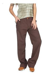 Pantalon Mujer Aysen Pants Café Haka Honu