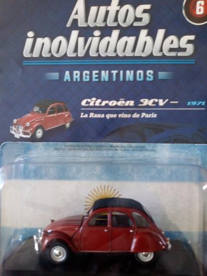 Autos Inolvidables Argentinos Citroen 3cv 1971 Nº6 Salvat