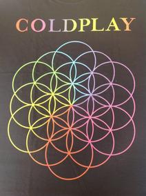Coldplay - Camisa A Head Full Of Dreams Produto Oficial
