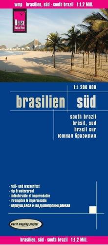 Mapa Brasil-sul Rodoviário (whaterprof)