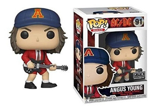Funko Pop! 91 Ac Dc Angus Young Chase Original - Candos