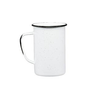 Juego De Tarro Cervecero De Peltre, 6 Piezas Blanco