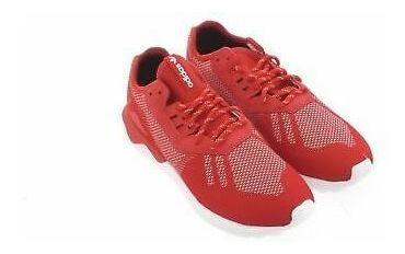 adidas tubular rojas