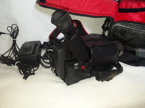 Filmadora Jvc - Vhs C / Gr- Axm10 / 18x Optical / 1997