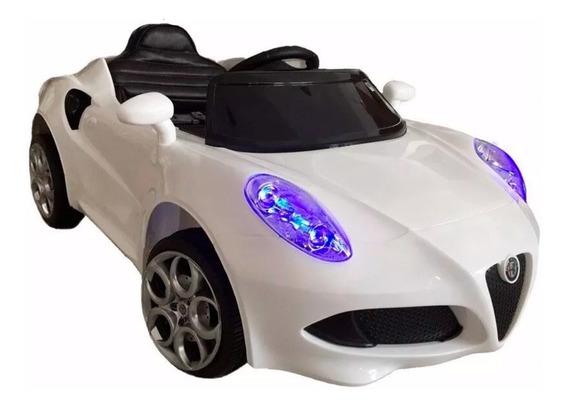 Auto Coche Bateria Alfa Romeo 12v Control 3024 Babymovil