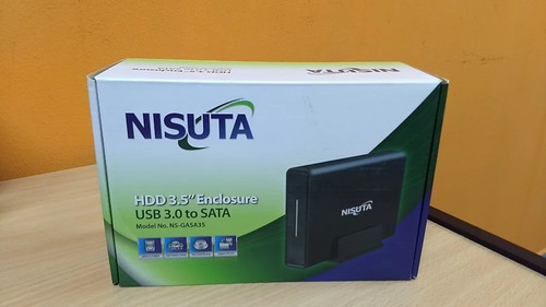 Gaveta Carry Case Nisuta Usb 3.0 Disco Sata 3.5 Portatil