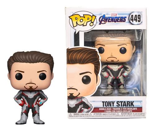 Funko Pop Tony Stark 449 Marvel Avengers Muñeco Original