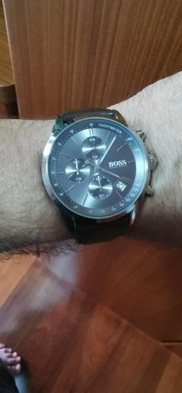 Relógio Cronógrafo Hugo Boss Completo