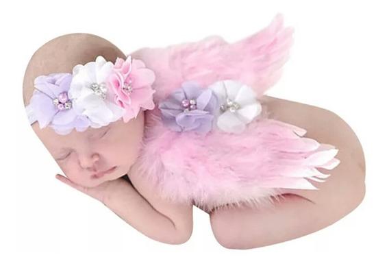 Alas Bebe Recien Nacido, Disfraz, Para Sesión De Fotos.