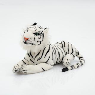 Tigre Blanco De Peluche Con Sonido Rugido.