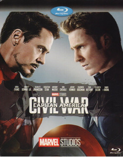 Capitan America Civil War Guerra Marvel Pelicula Blu-ray