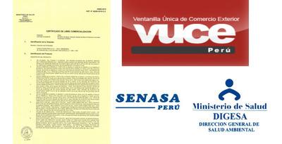 Certificado Libre Venta,dd.jj,certificado Origen,r.sanitario