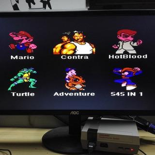 Retro Classic Fc Mini Player Videojuego De Consola De 8 Bits