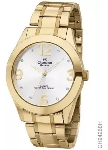 Relógio Champion Feminino Passion Ch24268h Original Líder
