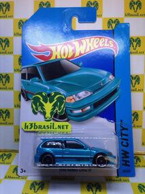 Bx421 Hot Wheels 2013 1990 Honda Civic Ef Japonês H3br