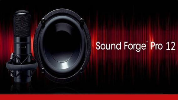 Sound Forge Pro 12 + Ativação Crack E Patch 2019