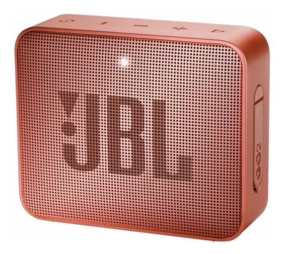 Caixa De Som Portátil Go 2 Original Jbl Com Bluetooth - À Prova D´agua