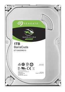 Disco Rígido 1 Tb Seagate Barracuda Simil Wd Blue 64mb
