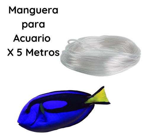 Manguera Para Acuario Transparente Por 5 Metros