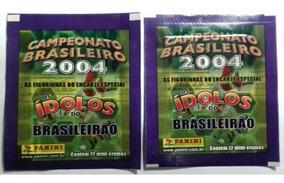 2 Envelope Cb 2004 Campeonato Brasileiro Panini Idolos