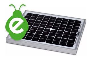 Panel Solar De 10w 12v Pantalla Solar Carga Baterías