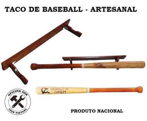Taco De Baseball Com Suporte - Atesanal Personalizado