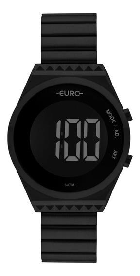 Relógio Feminino Euro Fashion Fit Slim Eubjt016ad/4p Preto