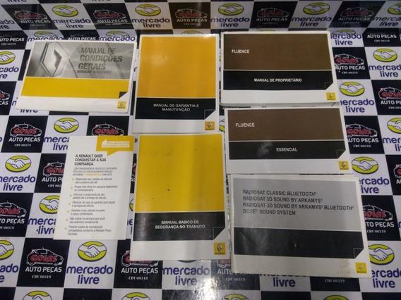 Manual Do Proprietário Renault Fluence 2011/2015 Usado
