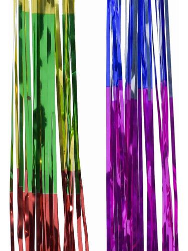Lluvia Navidad Multicolor 10 Cm X 1 Mts #210 X 5 Unidades