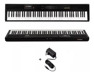 Piano Electrico Artesia Performer 88 Teclas Sensitivas Con Efectos Reverb / Chorus / Eq Pedal Sustain Incluido