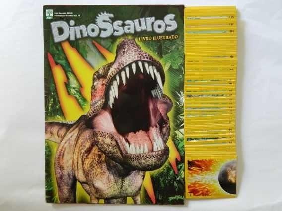90 Figurinhas Do Album Dinossauros Editora Abril &