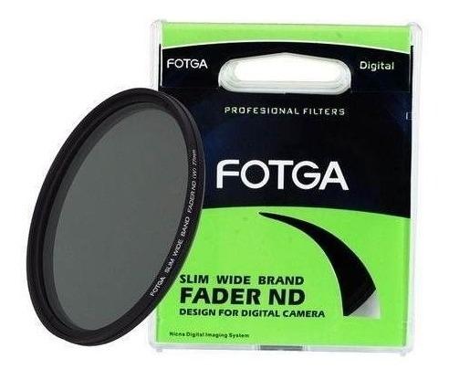 Filtro Fotga Nd Variável Nd2-nd400 (72mm) Para Canon 18-200m