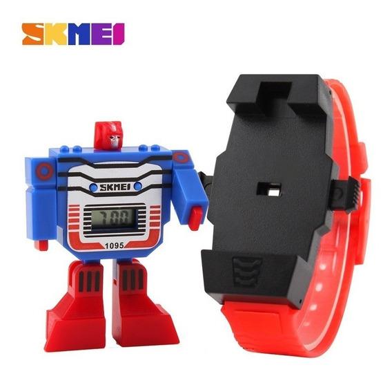 Transformers Relógio Skmei 1095 Promoção - O Mais Barato !!
