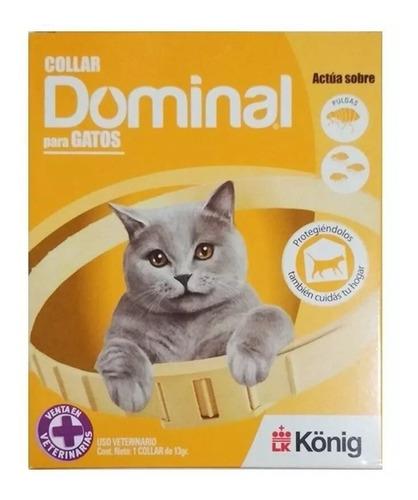 Collar Dominal Anti Pulgas Y Garrapatas Para Gatos