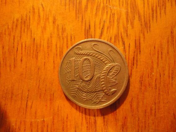 1 Moneda De 10 Cents De Australia Año 1970 Cd 171