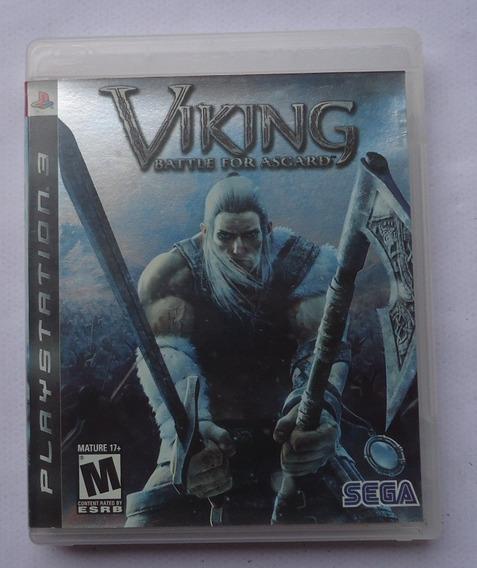Viking Battle For Asgard Ps3 ** Frete Gratis Leia