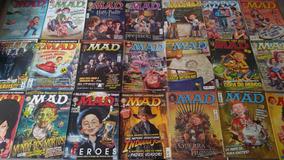 Revista Mad Editora Panini (complete Sua Coleção)