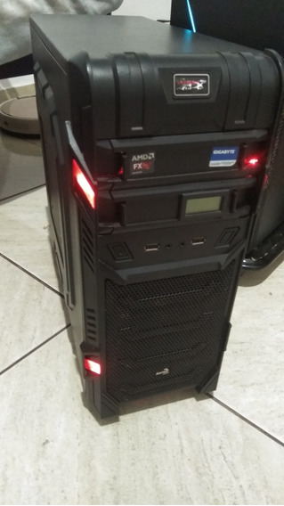 Pc Gamer Fx 6300, 4 Gb Ram, Placa Mãe, Hd 500 Gb, Fonte 450