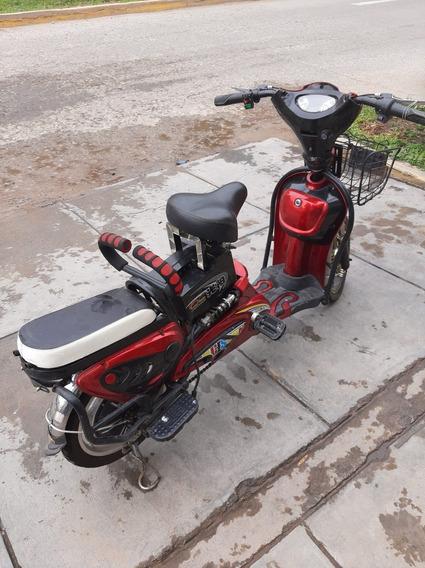 Moto Scooter Eléctrica, Envió Especificaciones Del Producto