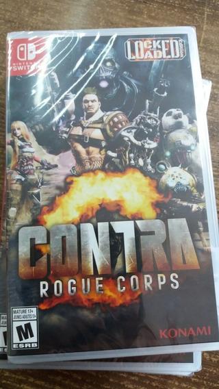 Contra Rogue Corps Switch Lacrado