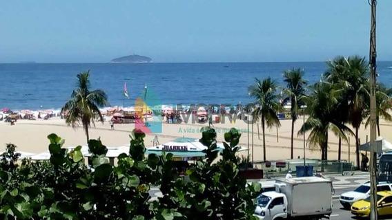 Copacabana, Excelente Três Quartos Frente Av. Atlântica , Salão Três Ambientes Duas Suítes Mais Um Quarto. - Cpap31152