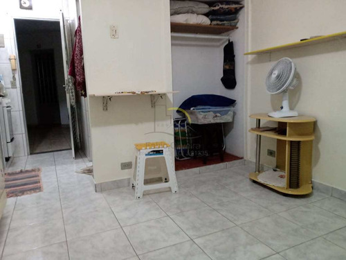Imagem 1 de 10 de Kitnet, Guilhermina, Praia Grande - R$ 120 Mil, Cod: 3080 - V3080