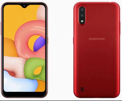 Samsung A01 Core, A01 $115, A10s $148, A11 $160, A21s $195