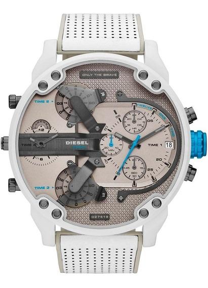 Relógio Diesel Masculino Mr. Daddy Cronógrafo Dz7419/0bn