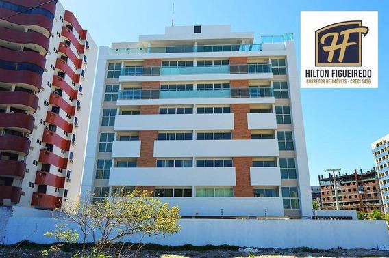 Flat Com 1 Dormitório À Venda, 28 M² Por R$ 140.000,00 - Intermares - Cabedelo/pb - Fl0050