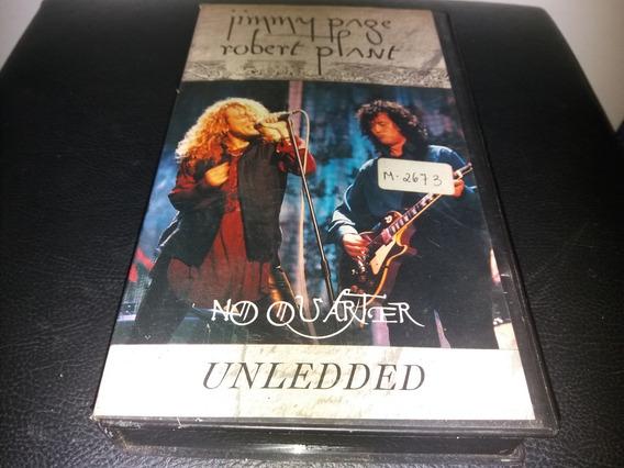 Vhs - Jimmy Page Robert Plant No Quarter Unledded