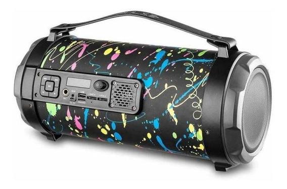 Caixa De Som Portátil Pulse Sp362 Paint Blast Ii - 120w