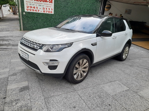 Land Rover Discovery Sport 2.0 Hse Luxury Branca 2015 7lug